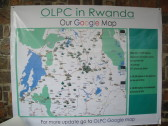 Amazing map of One Laptop Per Child / One Laptop Per Child (OLPC) Rwanda programs!