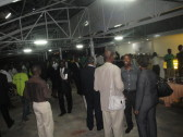 Party time at the Kigali Public Library's Rooftop Cafe!
