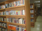 Fiction section.