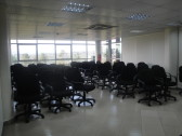 The largest meeting room. It's a multi-purpose space that can be configured however you want.