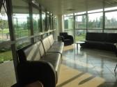 Staff lounge.