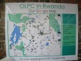Amazing map of One Laptop Per Child / One Laptop Per Child (OLPC) Rwanda programs!