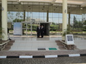 My father, Howard Herschel Kaufman, joined me for the official inauguration of the Kigali Public Library.