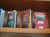 And the latest book by Paul Williams, also on display in the Kigali Public Library.